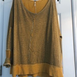 Free People sweatshirt/tunic